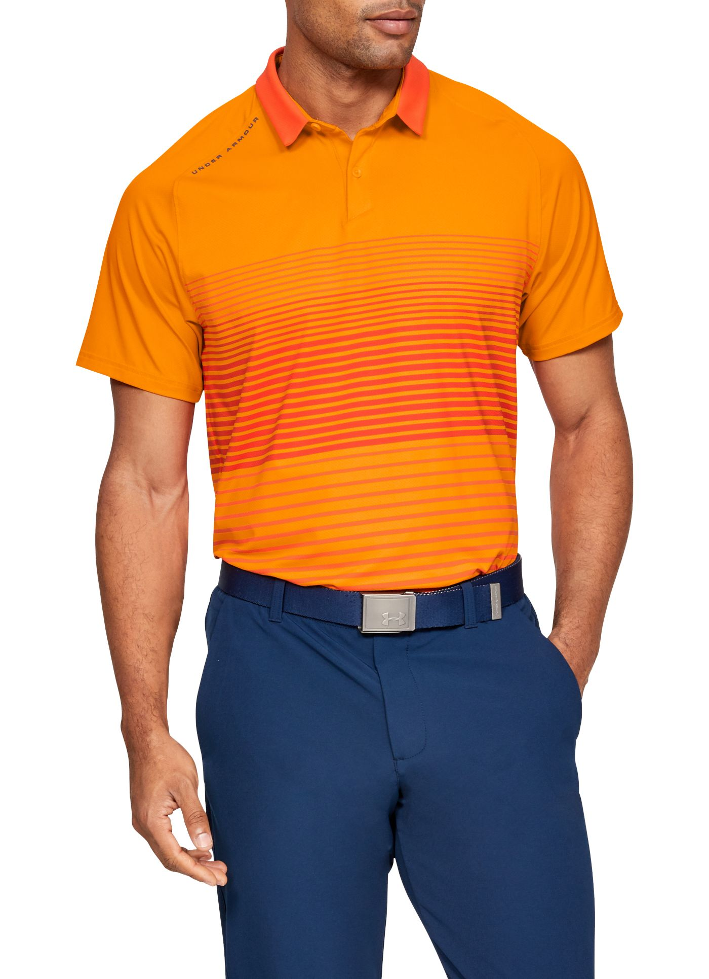 Under Armour Men's Iso-Chill Power Play Golf Polo