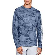 Under Armour Men's Shore Break Camo Fishing Long Sleeve Shirt (Regular and Big & Tall)