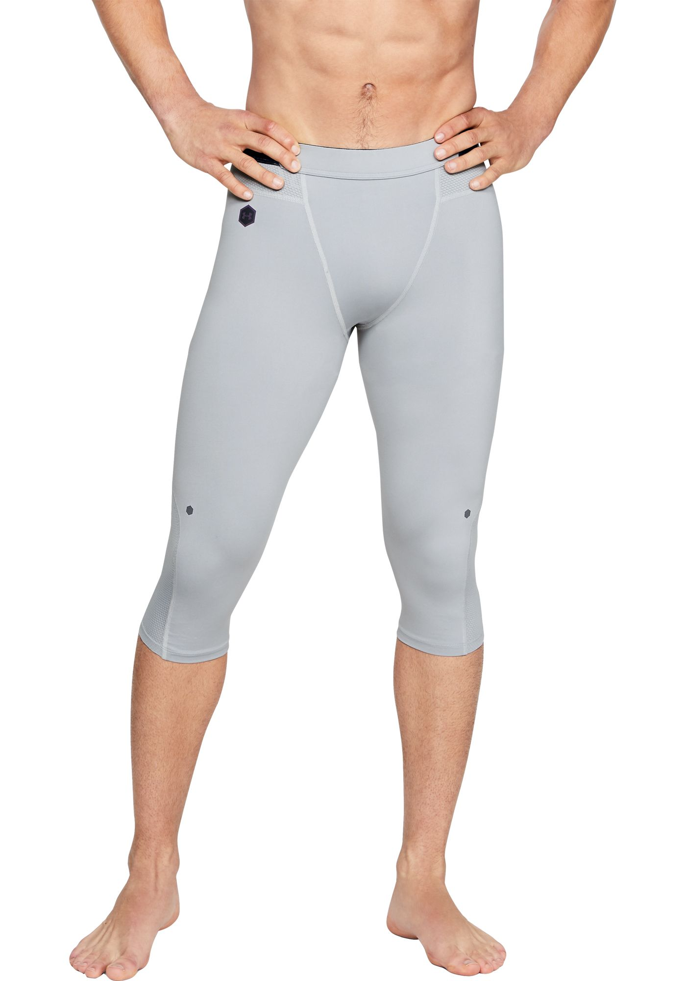 Under Armour Men's RUSH Select Basketball Knee Tights