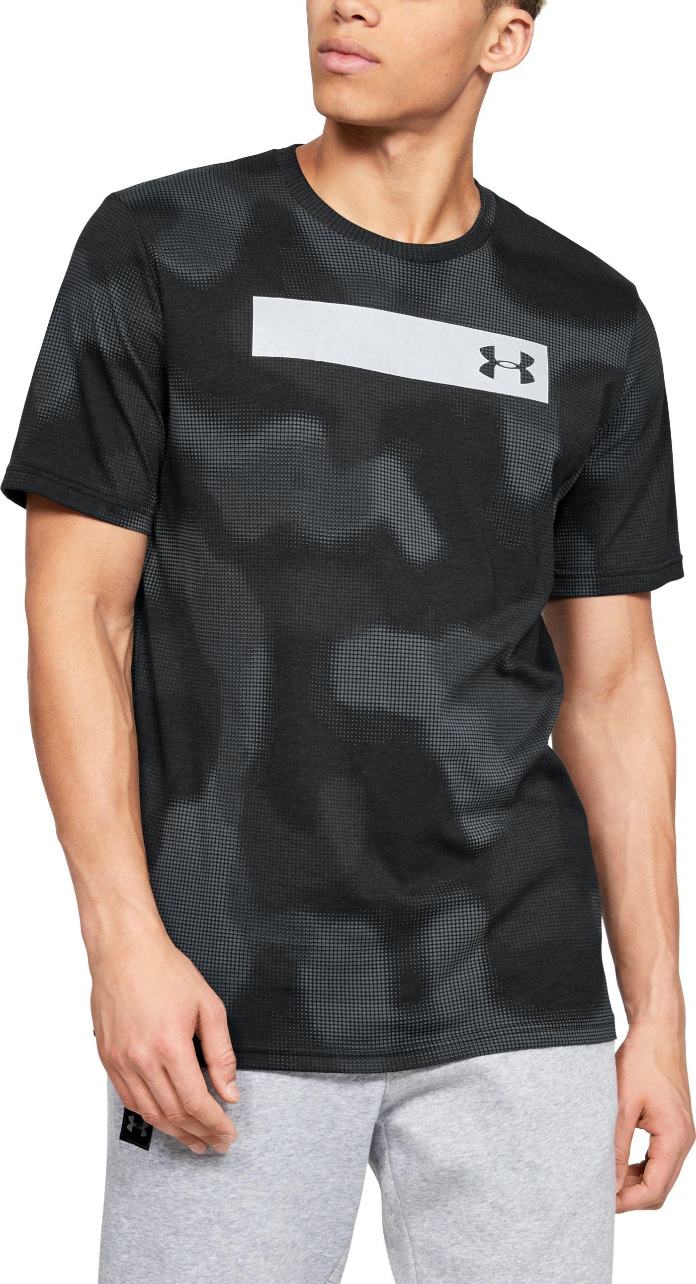 Under Armour Men's Printed Bar T-Shirt