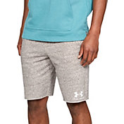 Under Armour Men's Sportstyle Terry Fleece Shorts in Onyx White/Onyx White