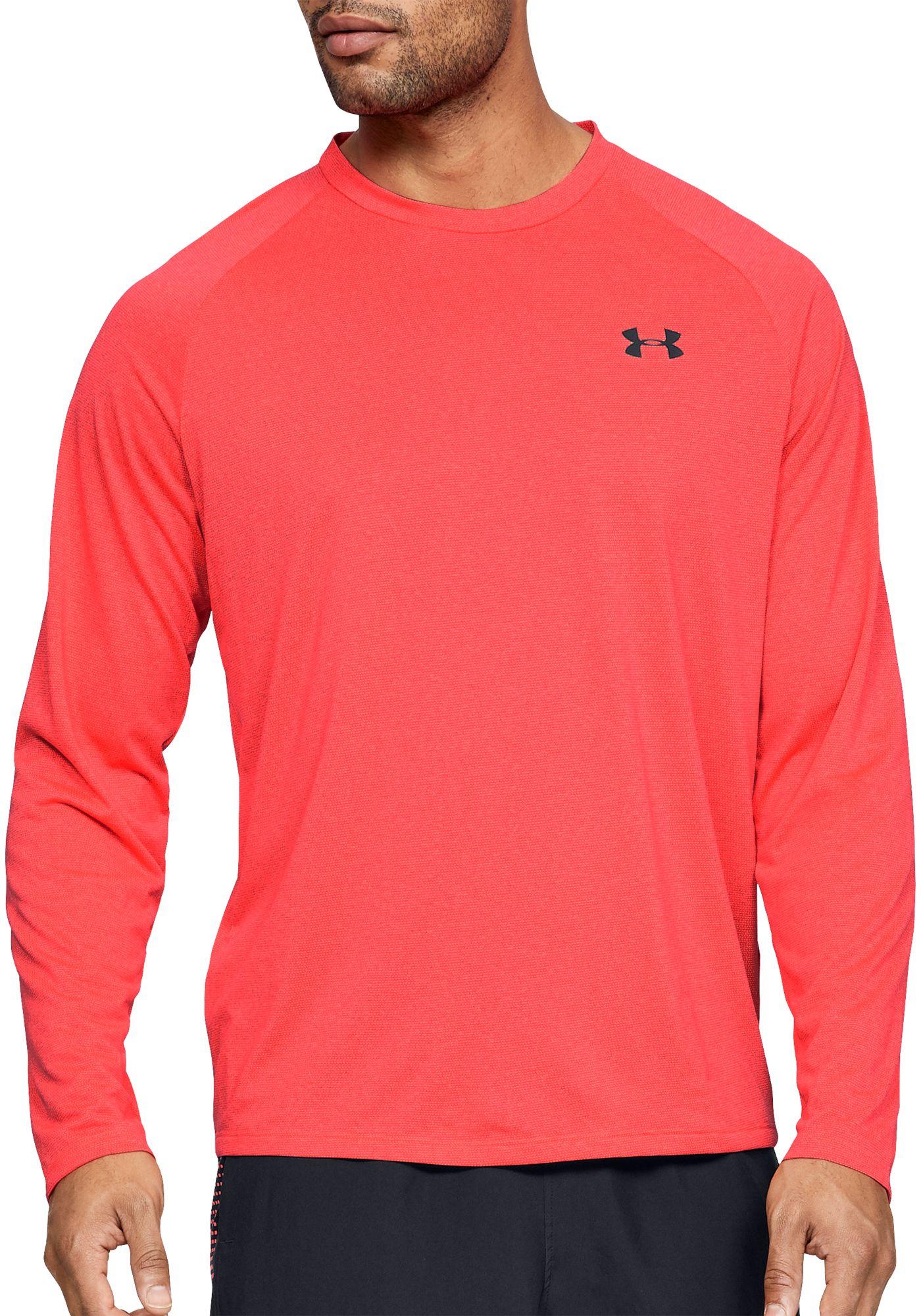 Under Armour Men's Tech 2.0 Novelty Long Sleeve Shirt (Regular and Big & Tall)