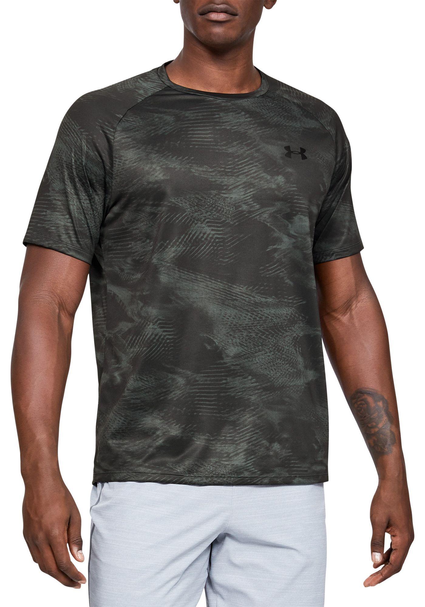 Under Armour Men's UA Tech Printed T-Shirt (Regular and Big & Tall)