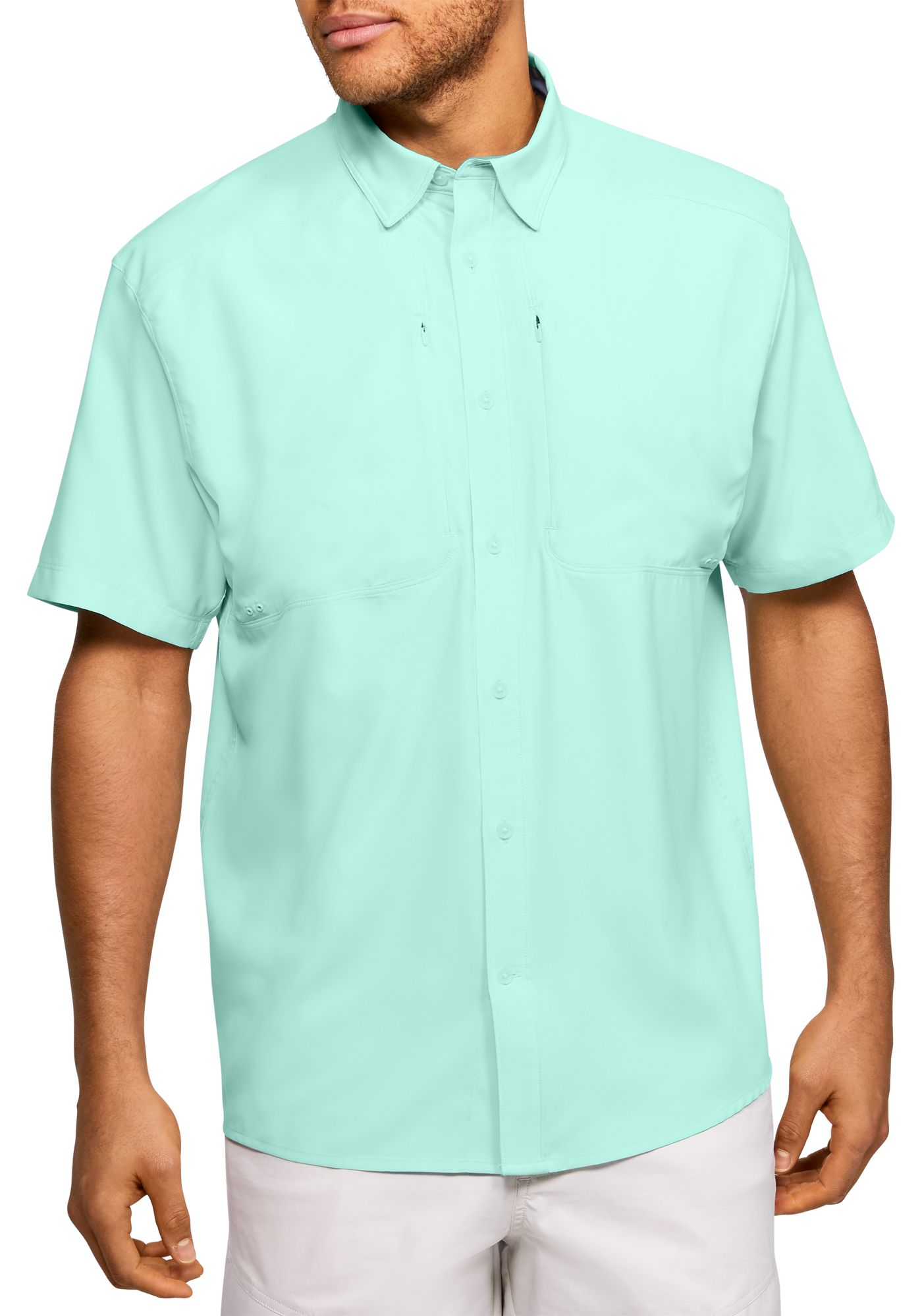 Under Armour Men's Tide Chaser 2.0 Fishing Short Sleeve Shirt (Regular and Big & Tall)