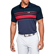 Under Armour Men's Vanish Chest Stripe Golf Polo