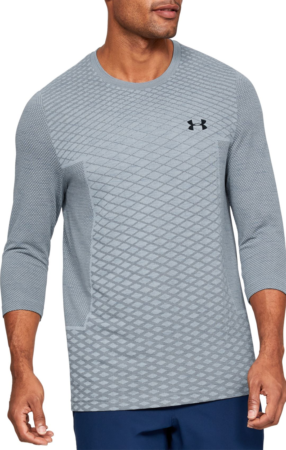 f2b647539 Under Armour Men's Vanish Seamless ¾ Sleeve Shirt | DICK'S Sporting ...