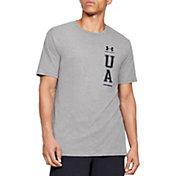 Under Armour Men's Vertical Left Chest Logo Short Sleeve T-Shirt