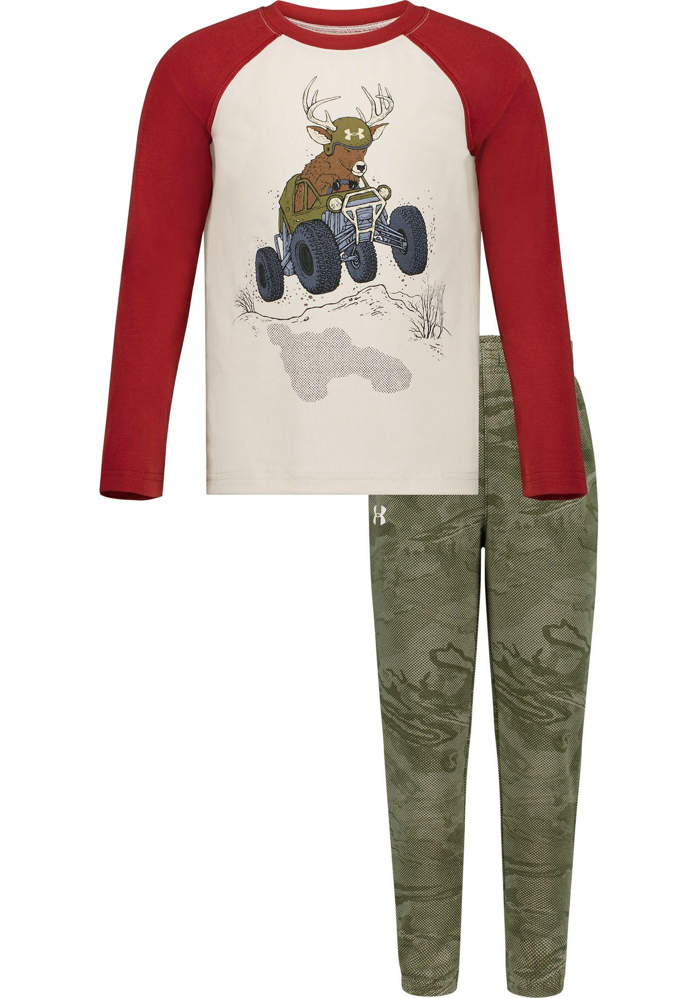 Under Armour Toddler Boys' Deer Buggy T-Shirt and Pants Set