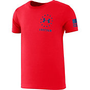 faabe0268 Product Image · Under Armour Toddler Boy's Freedom Flag T-Shirt