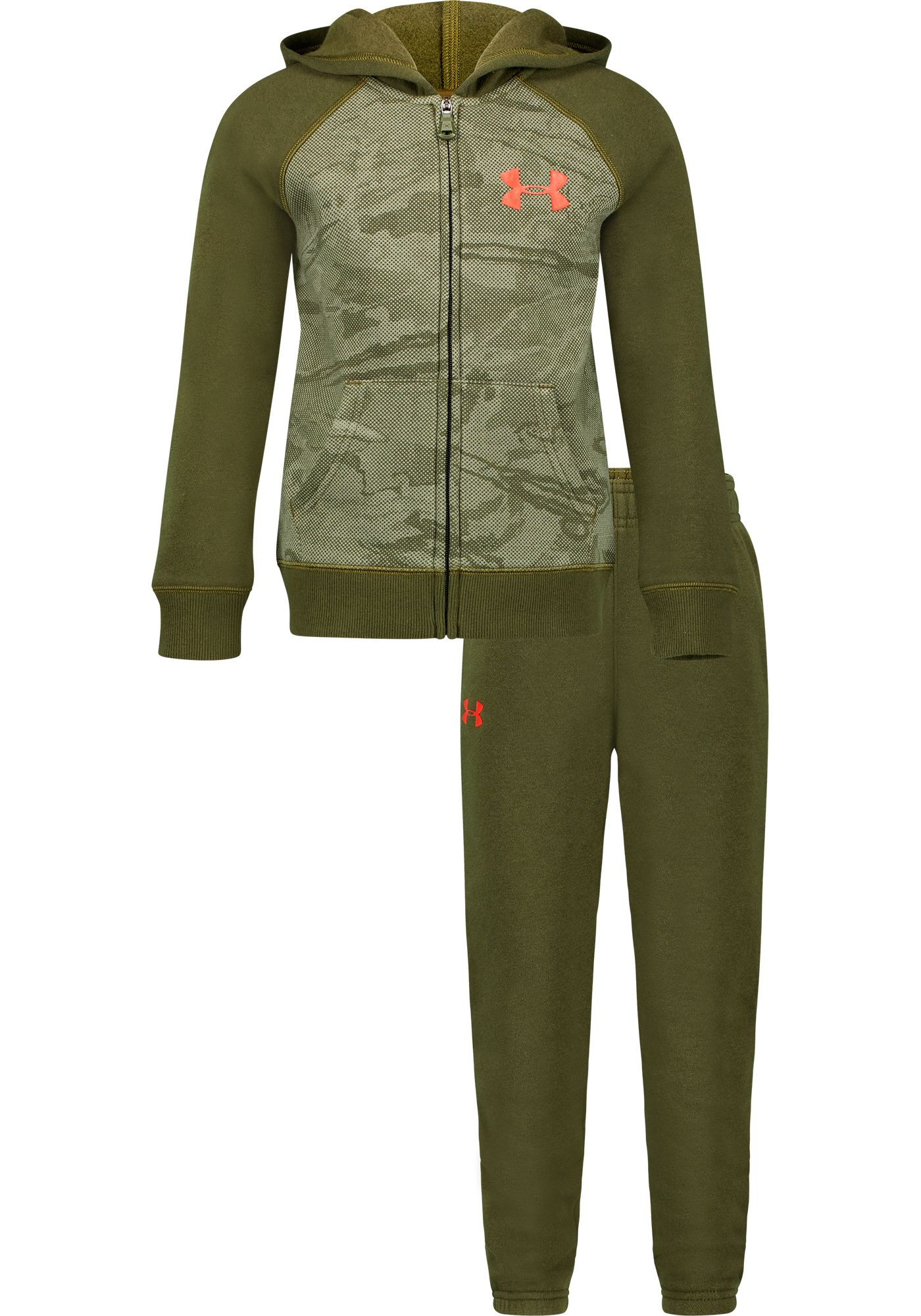 Under Armour Toddler Boys' Halftone Camo Hoodie and Pants Set