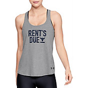Under Armour Women's Project Rock Rent's Due Graphic Tank Top