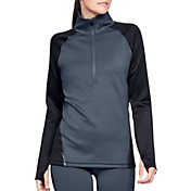 Under Armour Women's ColdGear Armour Color Block Half-Zip Pullover
