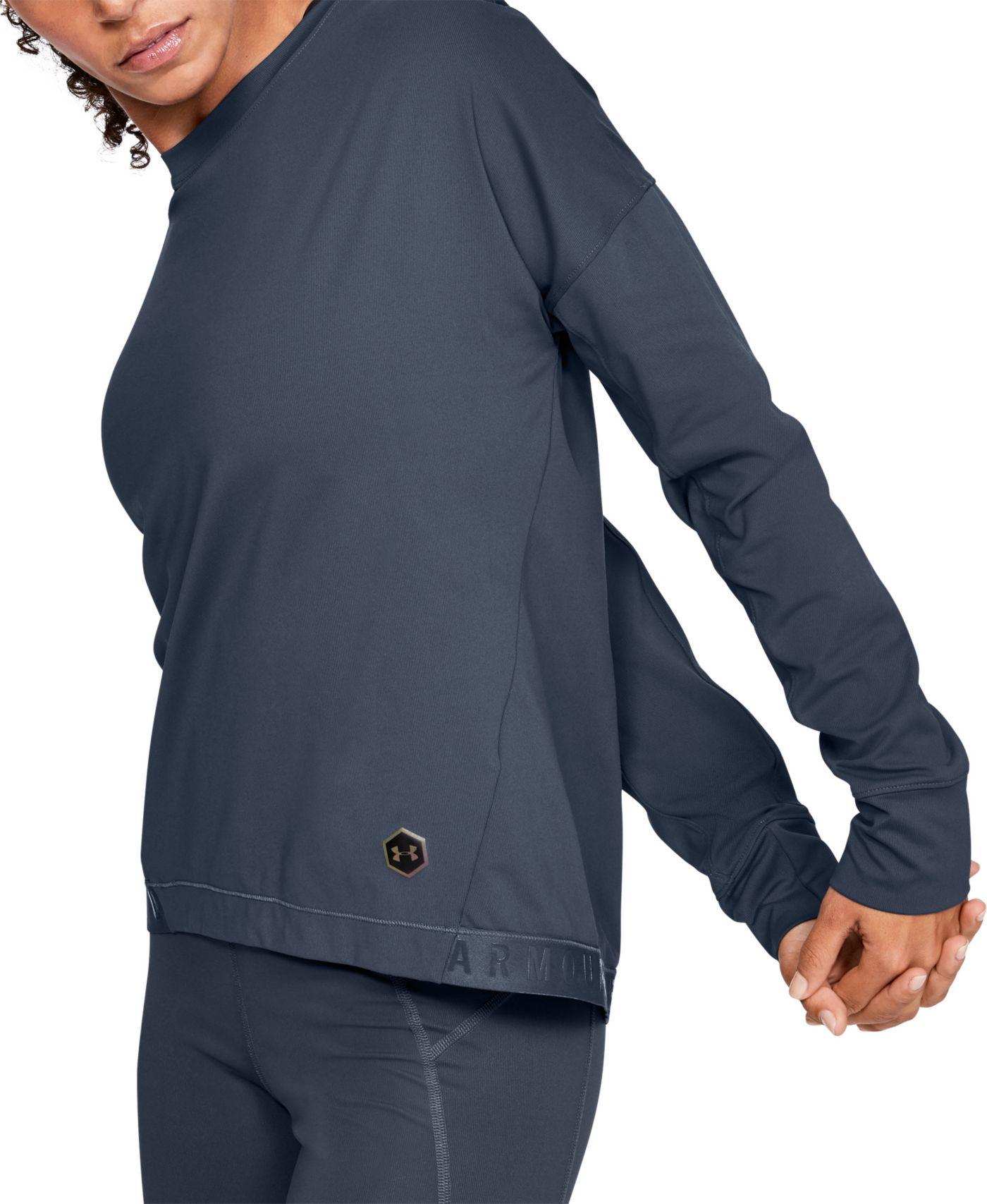 Under Armour Women's RUSH ColdGear Pullover