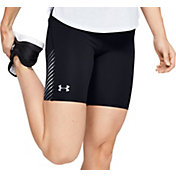 Under Armour Women's Fly Fast HeatGear Half Tights Running Shorts