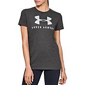 Under Armour Women's Sportstyle Graphic Classic Crewneck T-Shirt
