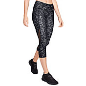 Under Armour Women's HeatGear Armour Capri Print Leggings