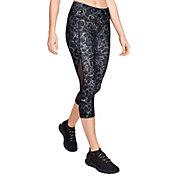 7e3301a245d20 Product Image · Under Armour Women's HeatGear Armour Capri Print Leggings