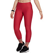 Under Armour Women's HeatGear Armour Ankle Crop Brand Leggings