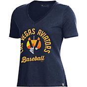 Under Armour Women's Las Vegas 51s Navy V-Neck Performance T-Shirt
