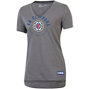 Under Armour Women's Los Angeles Clippers Performance V-Neck Shirt
