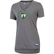Under Armour Women's Boston Celtics Performance V-Neck Shirt