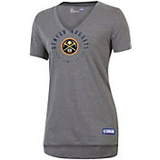 Under Armour Women's Denver Nuggets Performance V-Neck Shirt