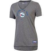 Under Armour Women's Philadelphia 76ers Performance V-Neck Shirt