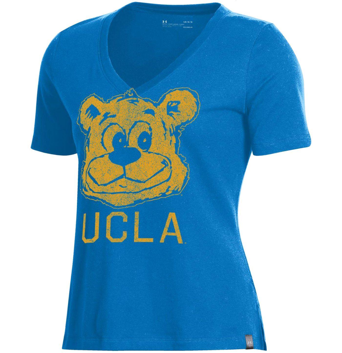 Under Armour Women's UCLA Bruins True Blue Performance V-Neck T-Shirt