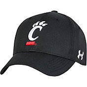 Under Armour Men's Cincinnati Bearcats Adjustable Black Hat