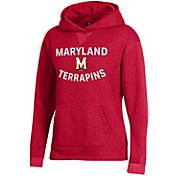 Under Armour Women's Maryland Terrapins Red All Day Hoodie