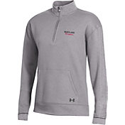 Under Armour Women's Maryland Terrapins Grey All Day Quarter-Zip Shirt