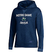 Under Armour Women's Notre Dame Fighting Irish Navy All Day Hoodie