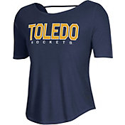 Under Armour Women's Toledo Rockets Midnight Blue Lux Short Sleeve Performance T-Shirt