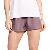 Under Armor Women's Play Up 3.0 Stripe Shorts