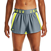 Under Armor Women's Play Up 3.0 Stripe Shorts
