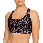 Under Armour Women's Mid Crossback Printed Bra