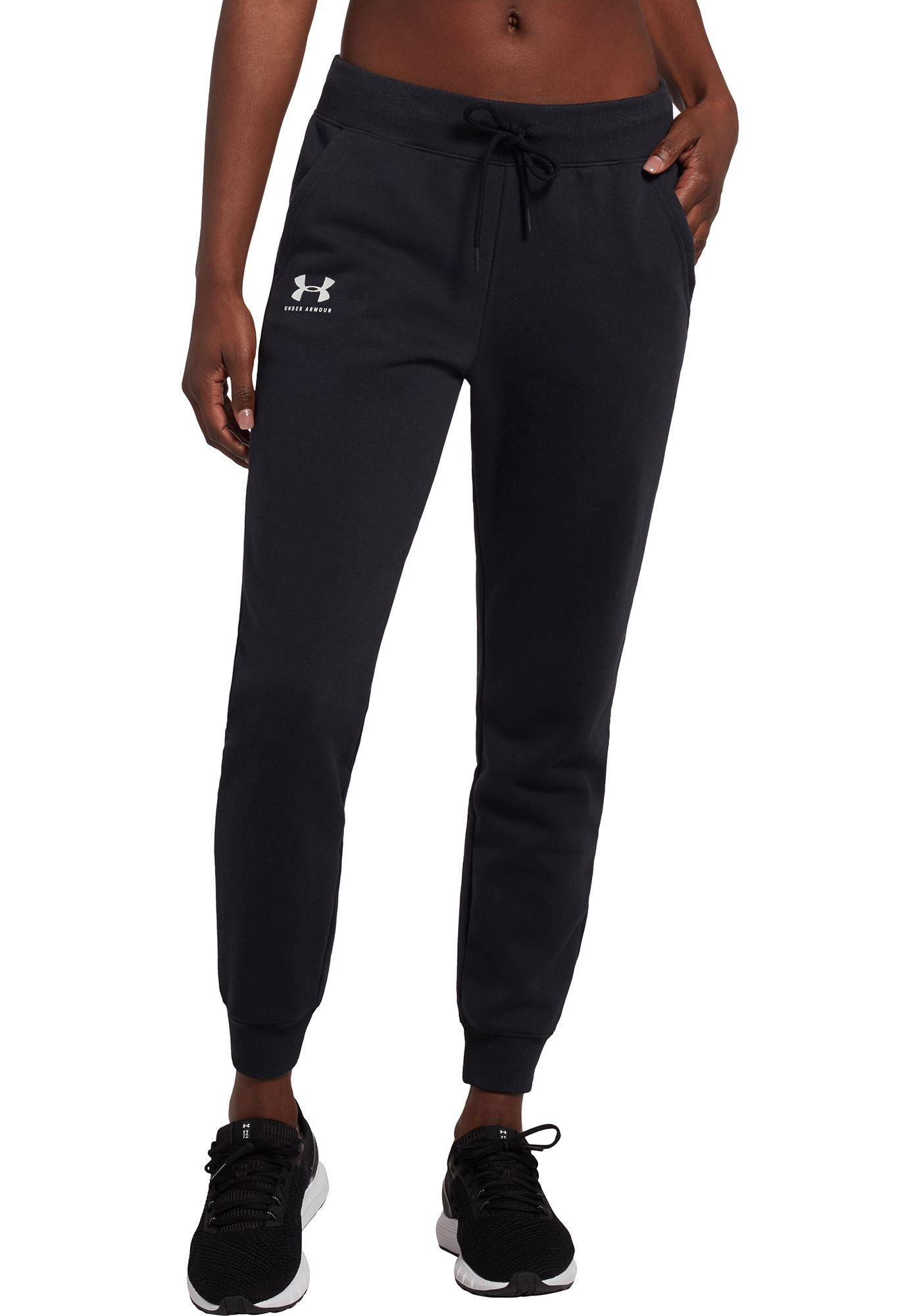 Under Armour Women's Rival Fleece Sportstyle Graphic Joggers