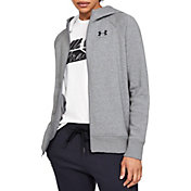 Under Armour Women's Rival Fleece Sportstyle Full Zip Grahpic Hoodie