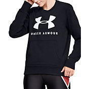 Under Armour Women's Rival Fleece Sportstyle Crewneck