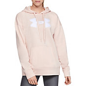 Under Armour Women's Synthetic Fleece Chenille Logo Hoodie