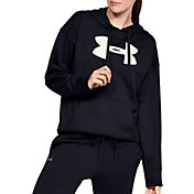 Under Armour Women's Synthetic Fleece Chenille Logo Hoodie