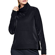 Under Armour Women's Synthetic Fleece Mock Mirage Sweatshirt