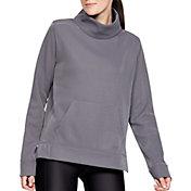 Under Armour Women's Synthetic Fleece Mock Mirage Sweatshirt