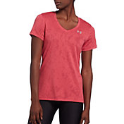 Under Armour Women's Tech Marble Jacquard Print T-Shirt