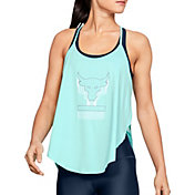Under Armour Women's Project Rock Armour Sport Brahma Bull Graphic Tank Top