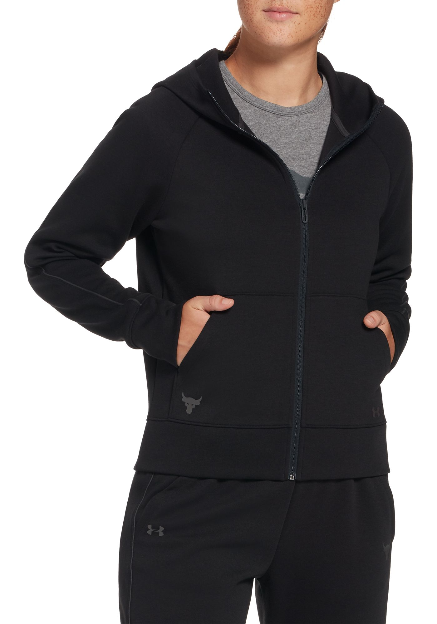 Under Armour Women's Project Rock Double Knit Hoodie