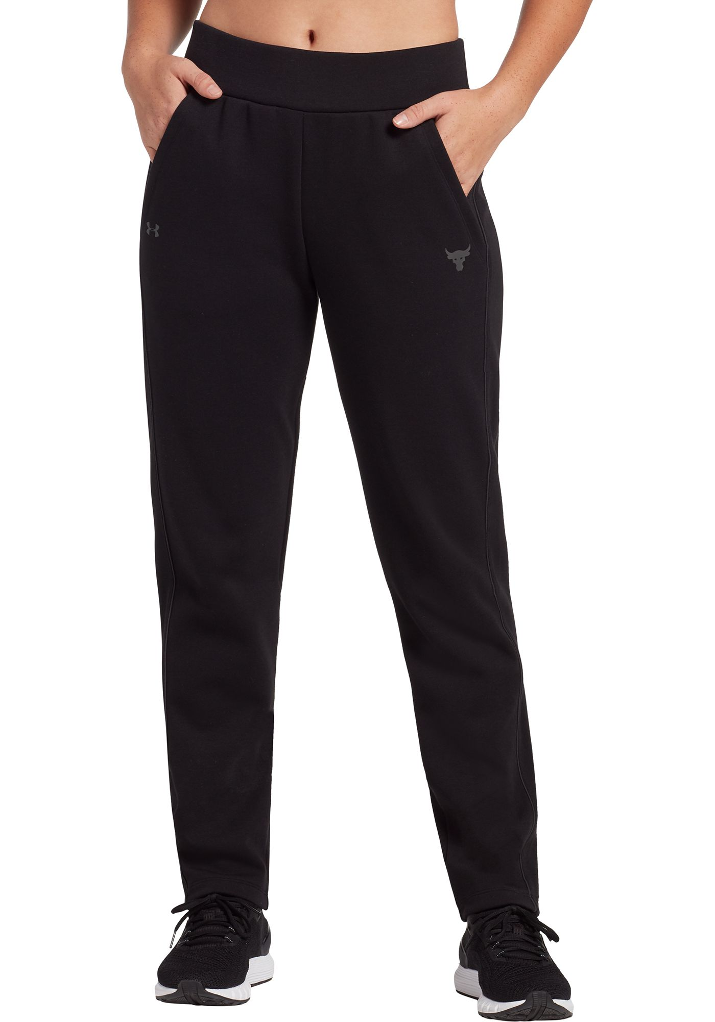 Under Armour Women's Project Rock Double Knit Track Pants
