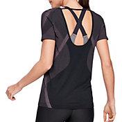 Under Armour Women's Vanish Seamless Keyhole T-Shirt