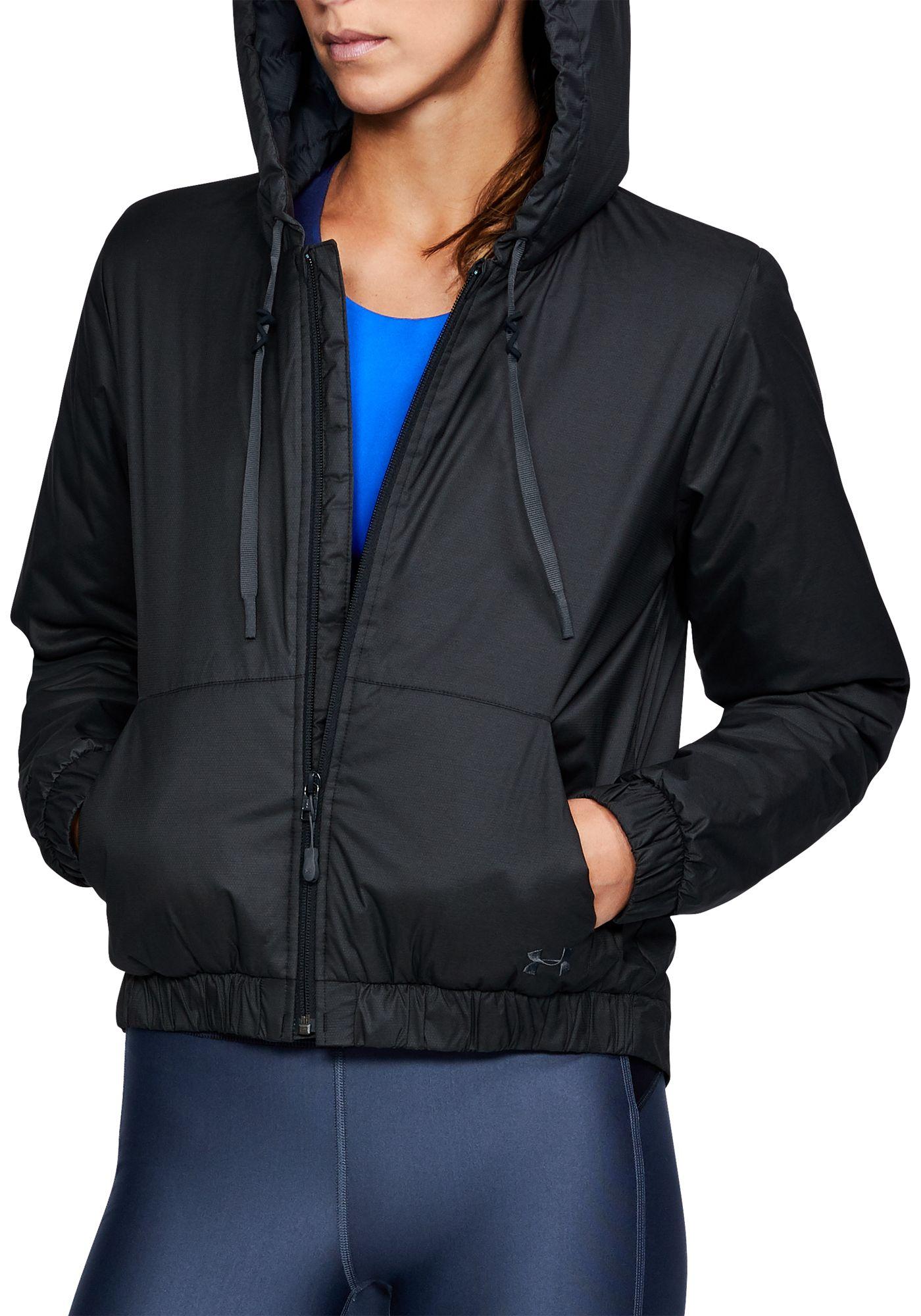 Under Armour Women's ColdGear Reactor Cropped Jacket