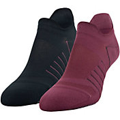 Under Armour Women's Performance Grippy No Show Socks – 2 Pack